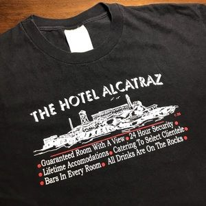 Other - ⛓ The Hotel Alcatraz Vintage Tee Shirt Size Large